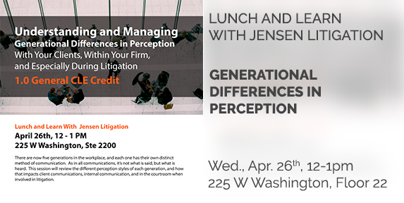 Lunch and Learn With Jensen Litigation
