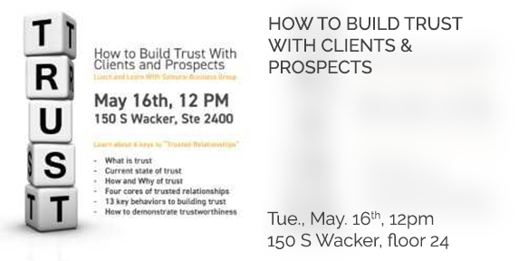 Build Trust with Clients and Prospects