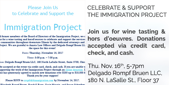 immigration project event