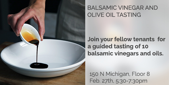 Balsamic Vinegar & Olive Oil Tasting