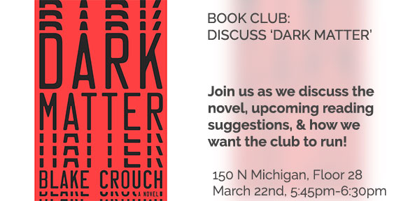 Book Club-discuss Dark Matter